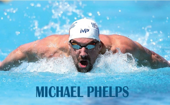 Michael Phelps con 28 medallas Olímpicas